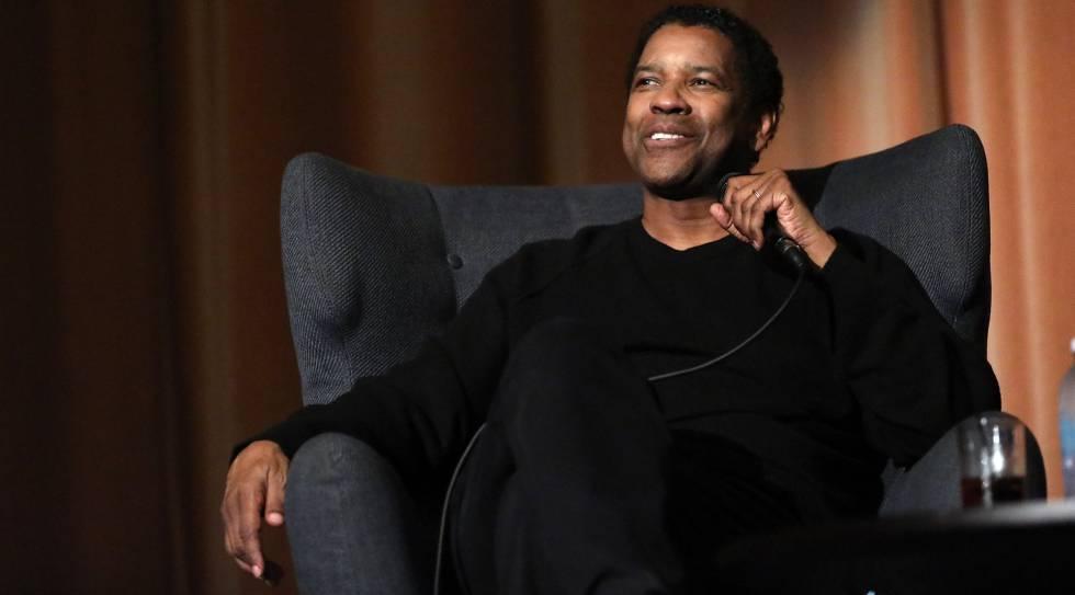 Denzel Washington, en la presentación de