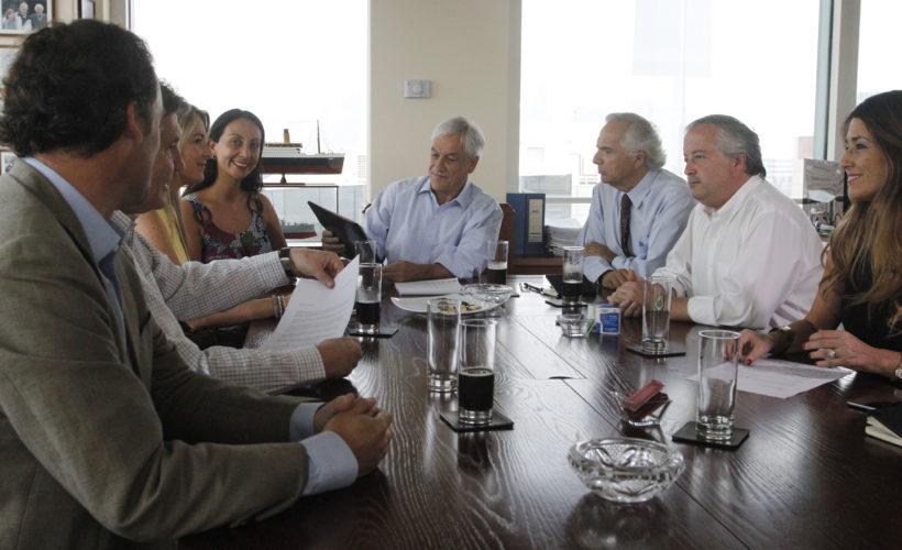 Sebastián Piñera se abre a adelantar definición presidencial