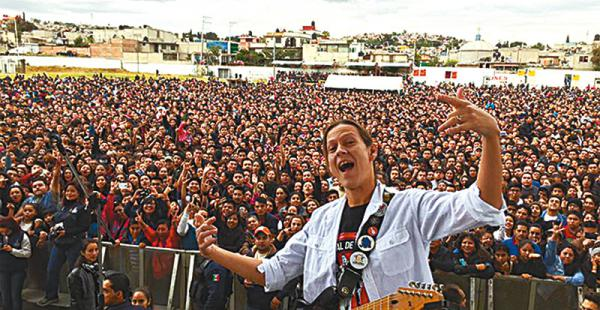 RECONOCIDO ARTISTA. Ronaldo Vaca Pereira y su banda estuvieron en México. Es socio de Torrellio y 'Pato'