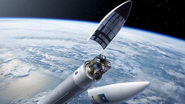 Sisitema Galileo de la Unión Europea que quiere competir con el GPS estadounidense y hacer que Europa no dependa de la tecnología y los satélites de Estados Unidos. Foto ESA