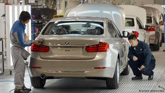 Fertigungswerk der BMW-Brilliance Automotive in Shenyang-Tiexi (picture-alliance/dpa)