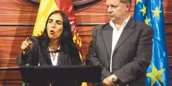 MAS busca ratificar a Montaño y a Gonzales en la Asamblea Legislativa