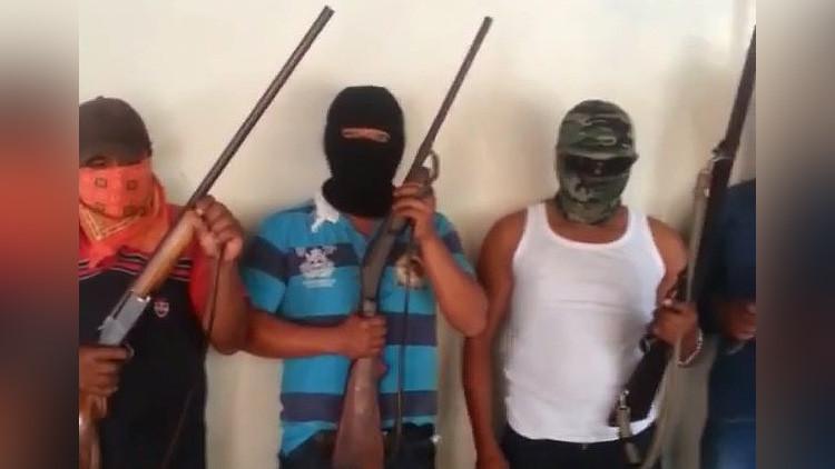 México: Un grupo armado de autodefensa aparece en Oaxaca