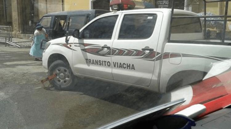 Transito Viacha Carvajal
