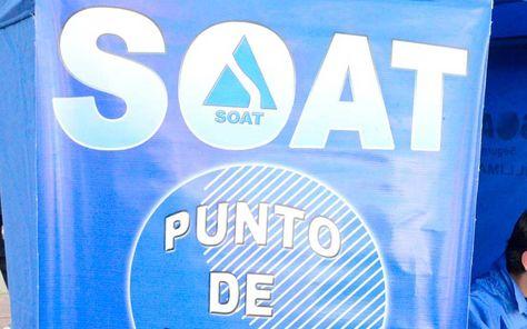 Un punto de venta del SOAT