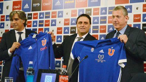 El argentino Ángel Guillermo Hoyos es presentado oficialmente nuevo técnico para el año 2017 en la Universidad de Chile.