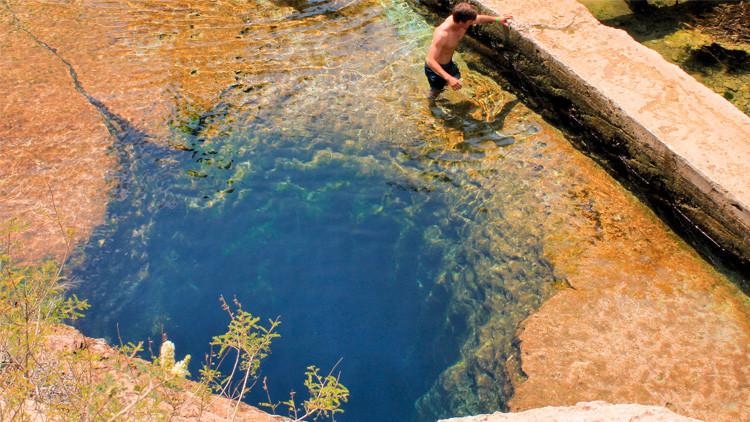 Así es el Pozo de Jacob, la cueva subacuática más traicionera y peligrosa para los buceadores