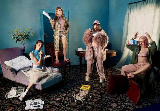 Lena Dunham, Allison Williams, Zosia Mamet, Jemima Kirke