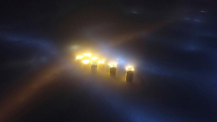 Imágenes apocalípticas: estas son las consecuencias del 'smog' con el que China arrancó el 2017