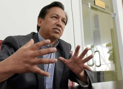 René Martinez, Secretario General de la Dirección del Silala.