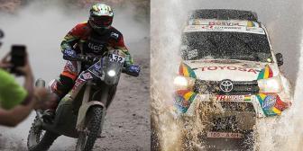 Salvatierra y Gutiérrez sellan el mejor Dakar del equipo Bolivia