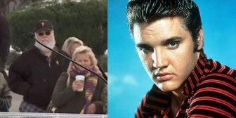 """La foto que alimenta la teoría conspirativa de que Elvis Presley """"está vivo"""""""
