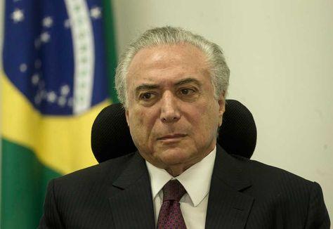 El presidente brasileño, Michel Temer, sostiene una reunión sobre la crisis en el sistema penitenciario.