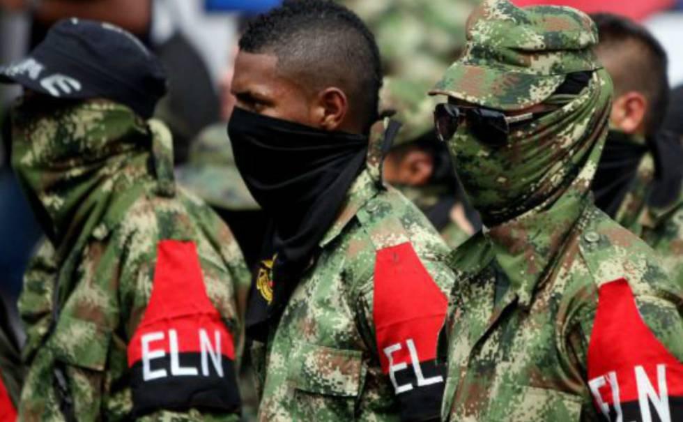 Miembros de la guerrilla del Ejército de Liberación Nacional (ELN).