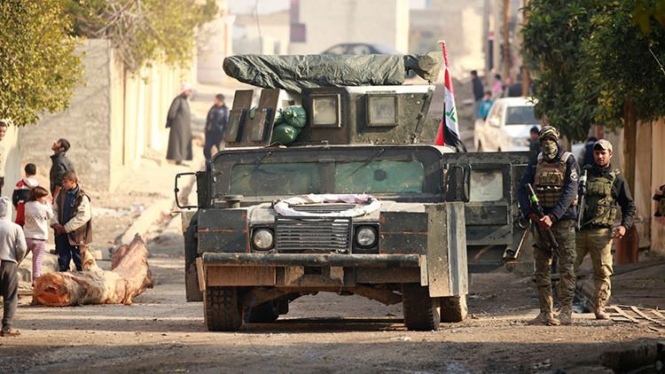 Las Fuerzas Armadas iraquíes confirman la liberación del este de Mosul del Estado Islámico