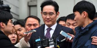 Tribunal rechaza detención del heredero de Samsung