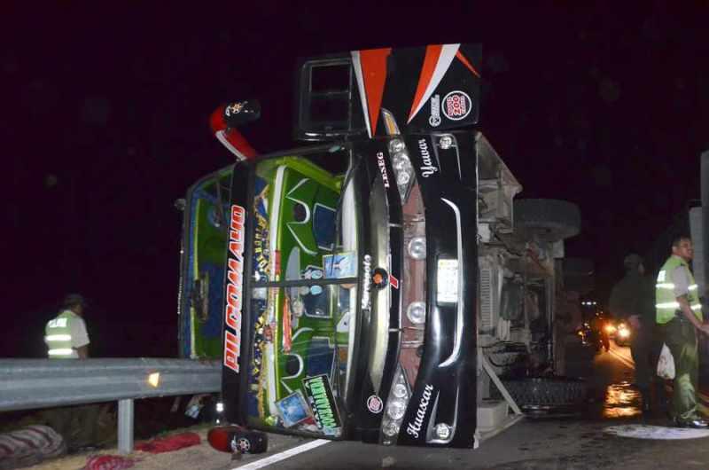 Exceso de velocidad causó accidente de la Pilcomayo