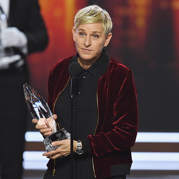 Ellen DeGeneres, 2017 Peoples Choice Awards
