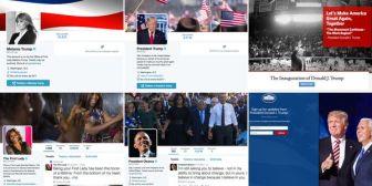 Qué ocurrió con las cuentas de Barack Obama y Donald Trump en las redes sociales