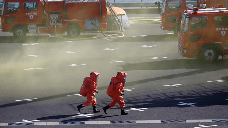 Resultado de imagen para Ordenan evacuar a 3.000 personas tras enorme incendio en planta petrolera de Japón