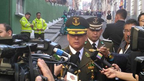 Rino Salazar, Comandante General de la Policía Boliviana
