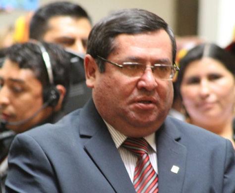 Rafael Alarcón Orihuela, Ministro de Energías. Foto: ABI