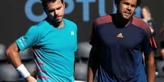 Abierto de Australia 2017: Stan Wawrinka y Jo-Wilfried Tsonga discutieron fuerte en su choque de cuartos
