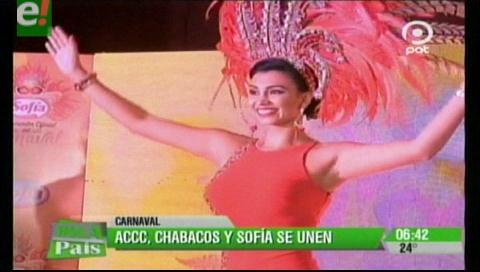 ACCC, Chabacos y Sofía se unen para la fiesta carnavalera