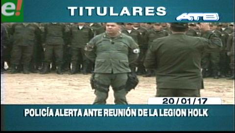 Video titulares de noticias de TV – Bolivia, mediodía del viernes 20 de enero de 2017
