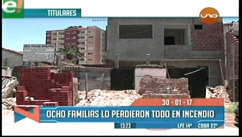 Video titulares de noticias de TV – Bolivia, mediodía del lunes 30 de enero de 2017