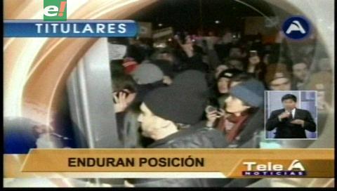 Video titulares de noticias de TV – Bolivia, noche del martes 31 de enero de 2017