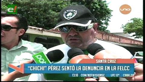 """""""Chichi"""" Pérez presenta denuncia por agresión"""