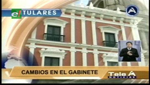 Video titulares de noticias de TV – Bolivia, noche del lunes 9 de enero de 2017