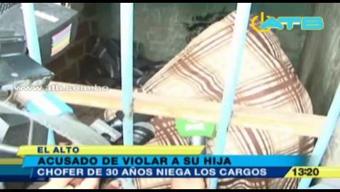 La Paz: Aprehenden a un hombre acusado de violar a su hija de ocho años
