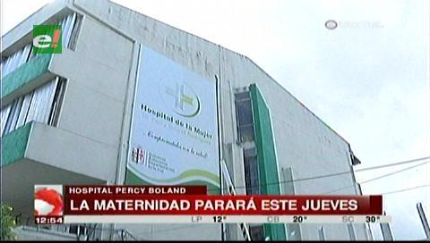 Santa Cruz: Trabajadores de la Maternidad y el Oncológico paran mañana