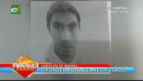 La Policía difunde la fotografía del reo que escapó de la carceleta de Warnes