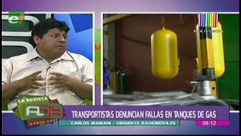 Transportistas denuncian mal estado de cilindros de gas