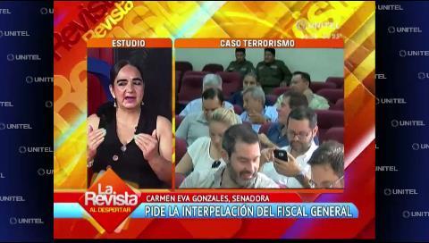 Senadora Gonzales critica la lentitud en el proceso contra el ex fiscal Marcelo Soza