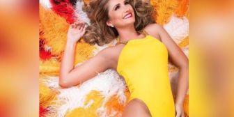 Andrea Forfori está lista para mostrar lo mejor del Carnaval