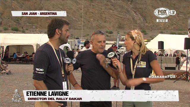 "Etienne Lavigne: ""El Dakar nunca será fácil"""