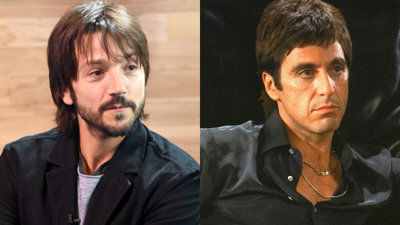 Diego Luna, Al Pacino, Scarface