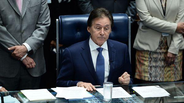 Eunicio Oliveira es el nuevo presidente del Senado (AFP)