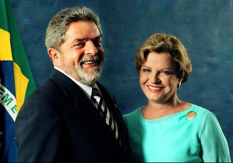Luiz Inacio Lula junto a su esposa Marisa Leticia Rocco. Foto: Alchetron