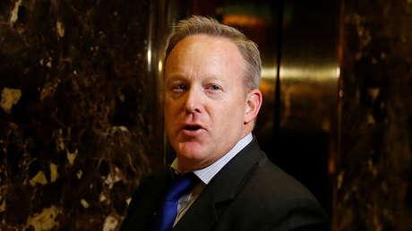 Sean Spicer, futuro secretario de Prensa de la Casa Blanca.