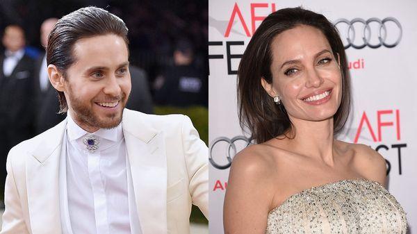 Jared Leto y Angelina Jolie