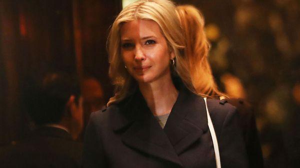 Ivanka Trump es la CEO y presidente de empresas de indumentaria, zapatos y joyas (Getty)