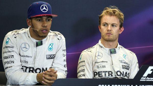 Su último compañero fue Nico Rosberg y se hicieron públicos los problemas que tenían