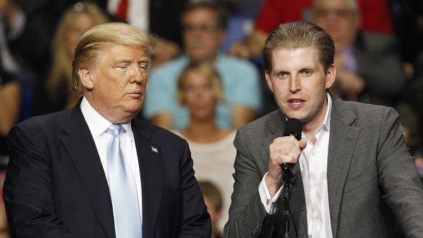 Donald y Eric Trump (Reuters)