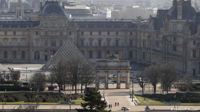 Frankreich Paris Louvre Attentat (Reuters/P. Wojazer)