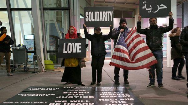 Protestas de inmigrantes (Reuters)